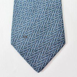Valentino Silk Tie, Blue, D5